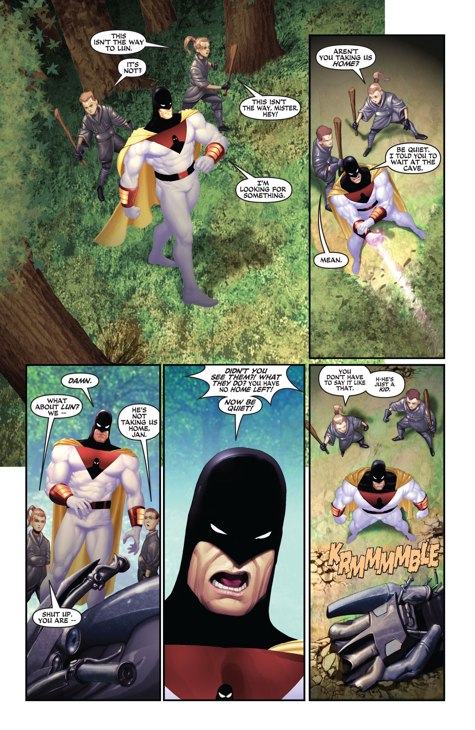 Read online Space Ghost (2016) comic -  Issue # Full - 84
