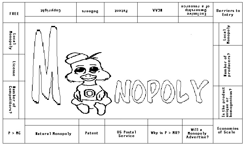 monoply coloring pages - photo #5