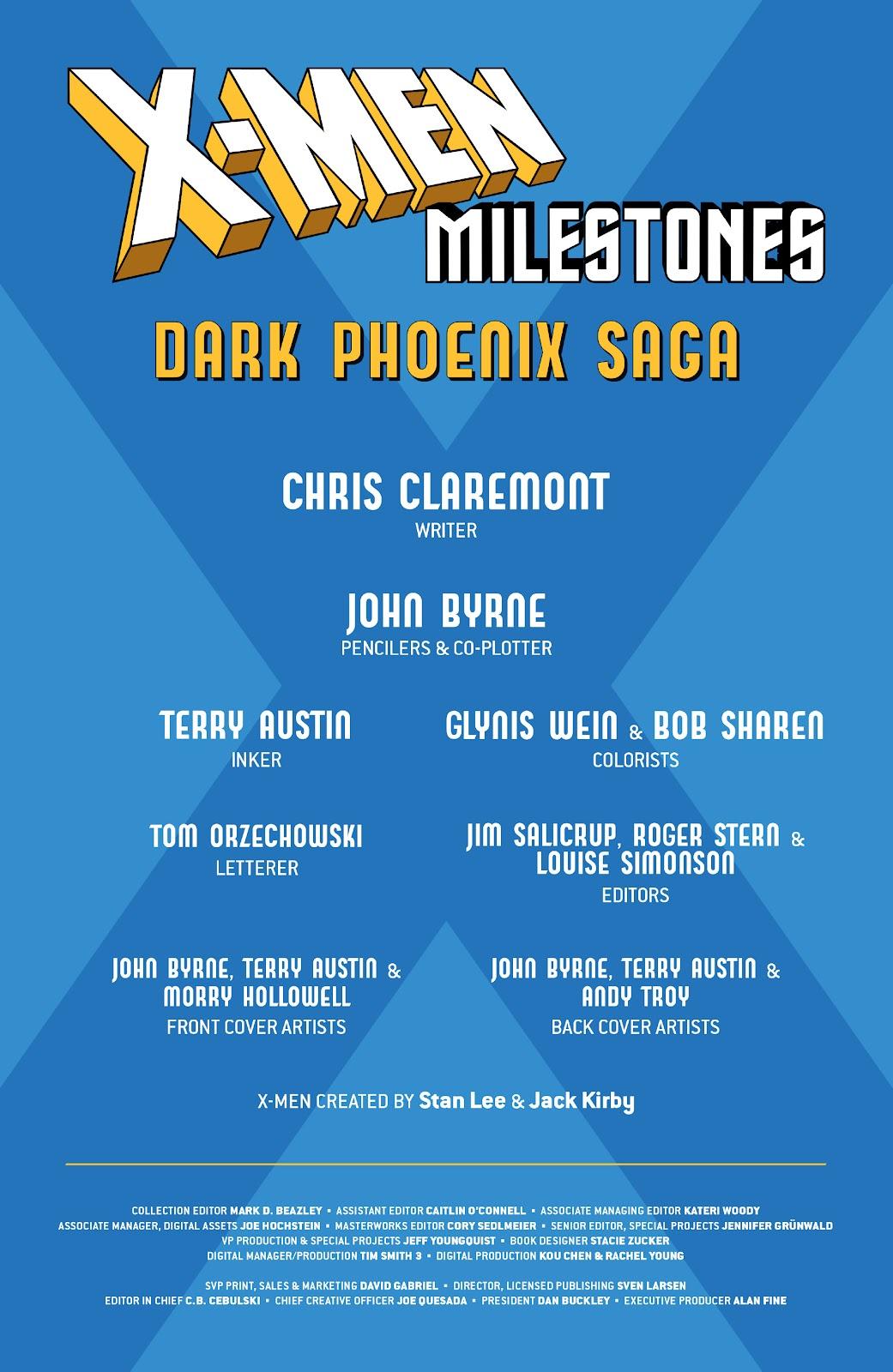 Read online X-Men Milestones: Dark Phoenix Saga comic -  Issue # TPB (Part 1) - 4
