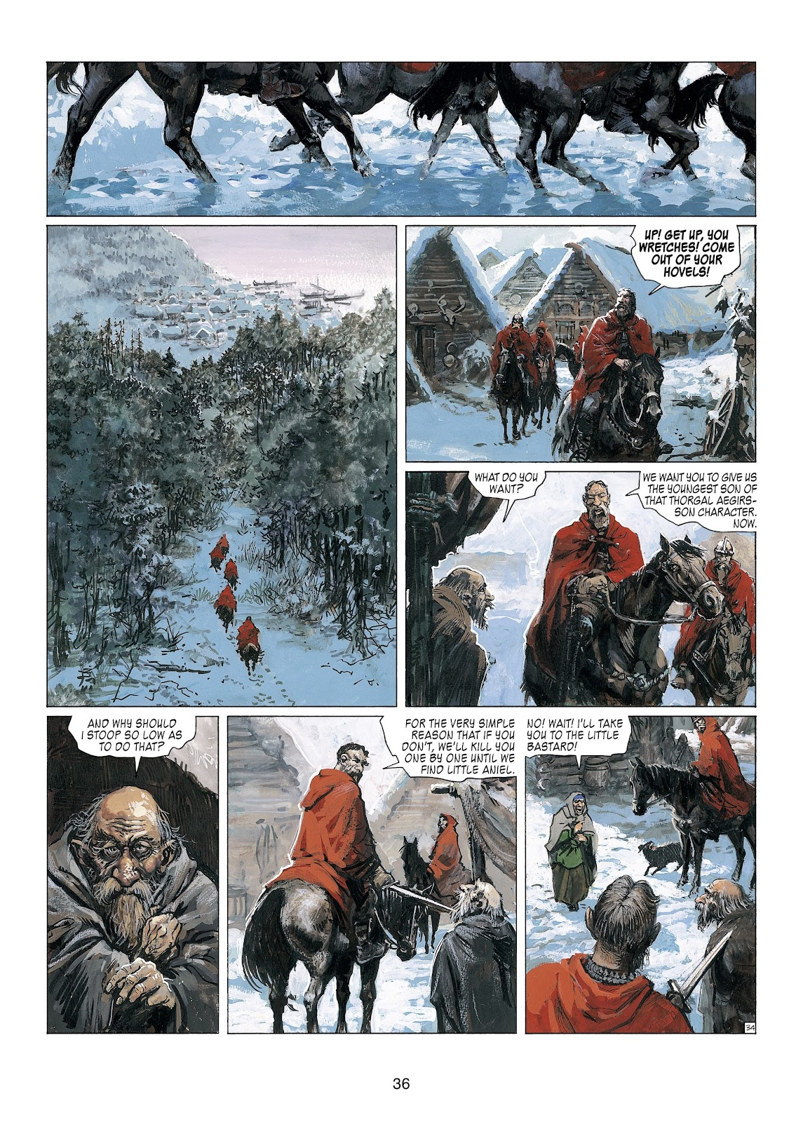Read online Thorgal comic -  Issue #23 - 38