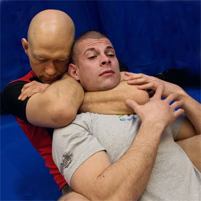 Apologise, but, rear naked choke submission speaking, try