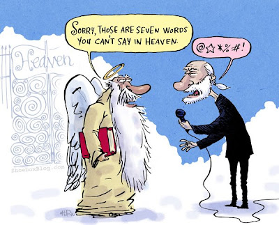 George Carlin Cartoon