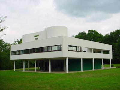 Le Corbusier - Villa Savoye, Poissy, 1928