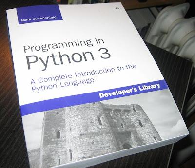 Corey Goldberg: New Book - Programming in Python 3