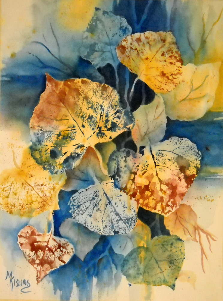 Martha Kisling Art With Heart : FALL LEAVES - Original ...