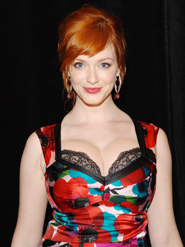 Christina Hendricks Hair Color Celebrities Hairstyle