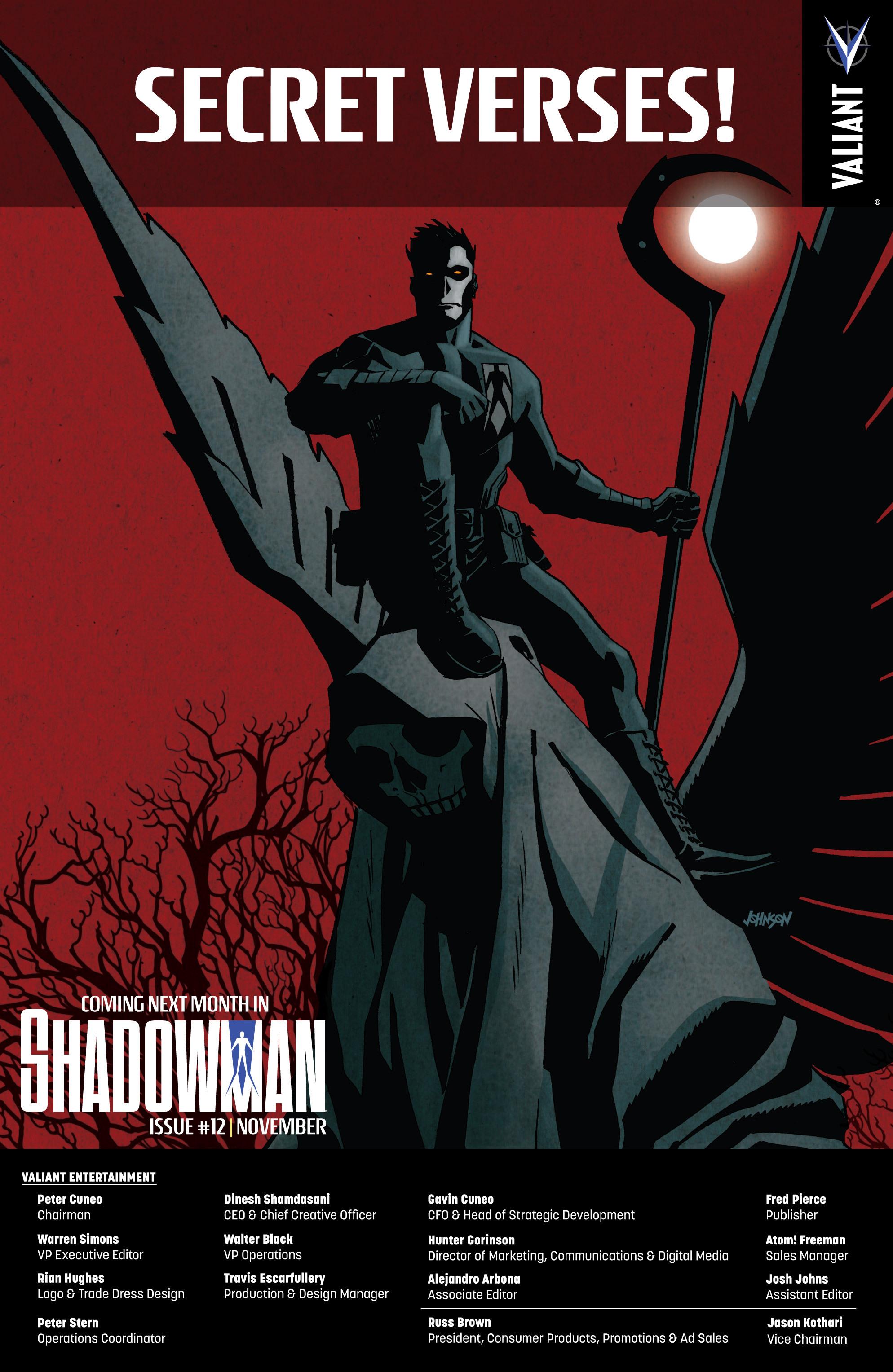 Read online Shadowman (2012) comic -  Issue #11 - 24
