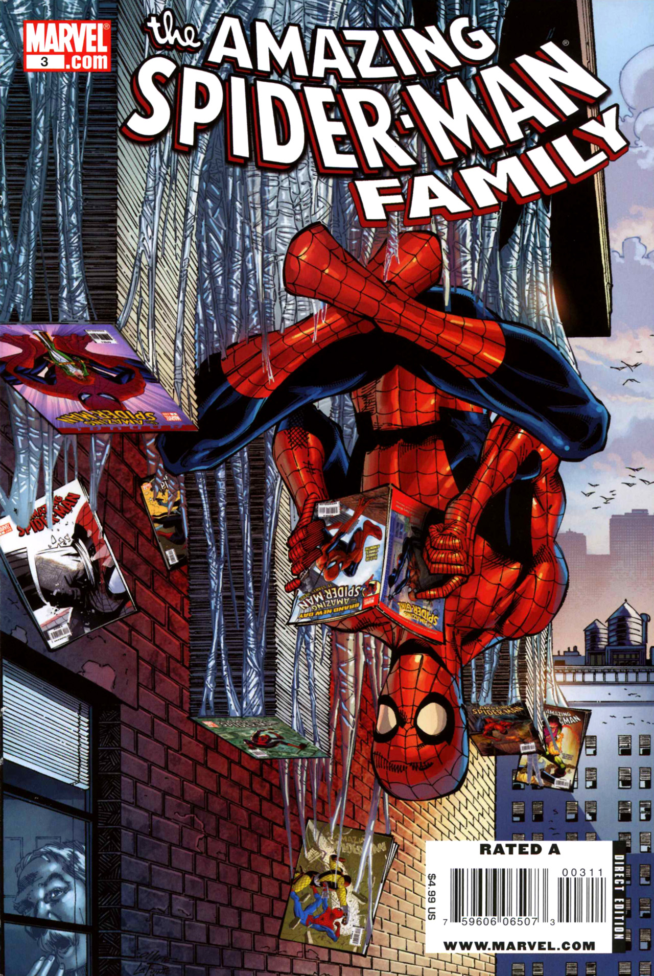 Read online Amazing Spider-Man Family comic -  Issue #3 - 1