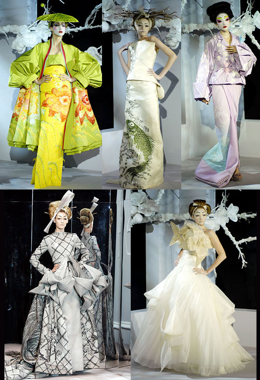 Details from Christian Dior Haute Couture S2007 Collection