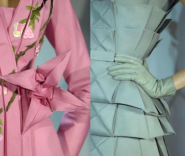 Ajurette Magablog Origami Inspired Fashion Designs