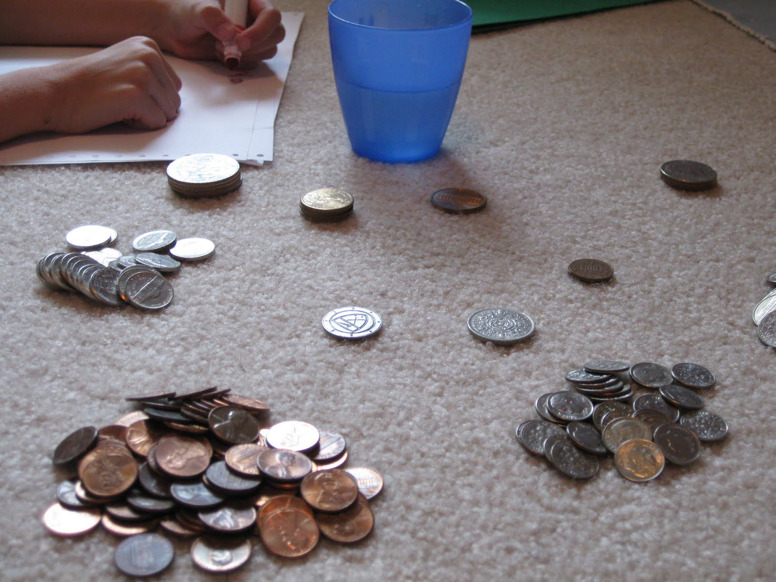 Math Counting Coin Printables