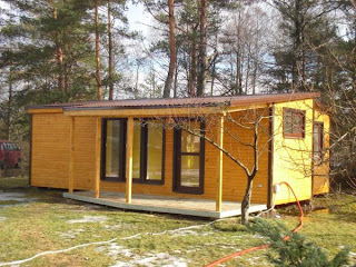 modul holzhaeuser holzhaus fertighaus ferienhaus guenstige preise modul holzhaus 4 45m2. Black Bedroom Furniture Sets. Home Design Ideas