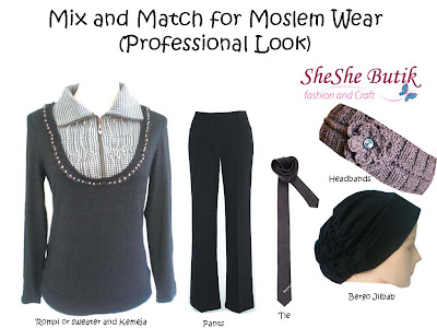 Mix and Match for Moslem Wear