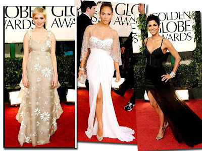 Fashion in Style at Golden Globe Awards 2011