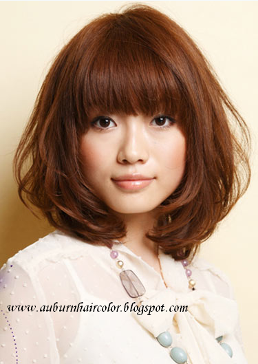 Auburn Hair Color: Chestnut Hair Color