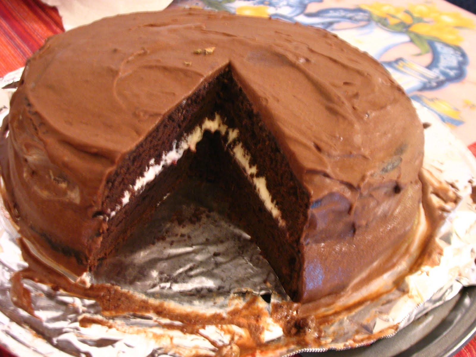 Carob fudge cake recipe