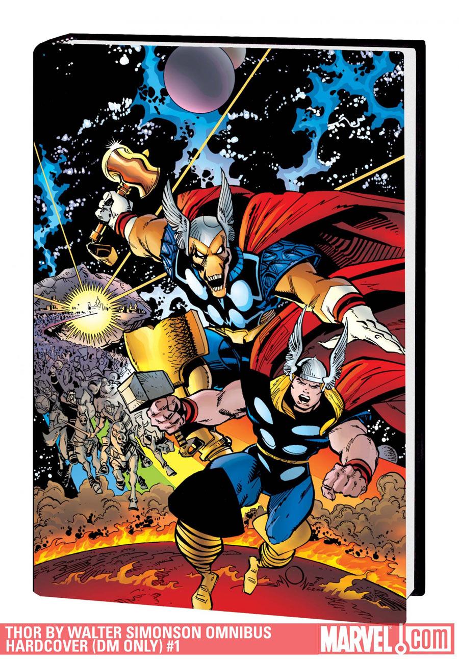 Cover of Walter Simonson's Thor Omnibus