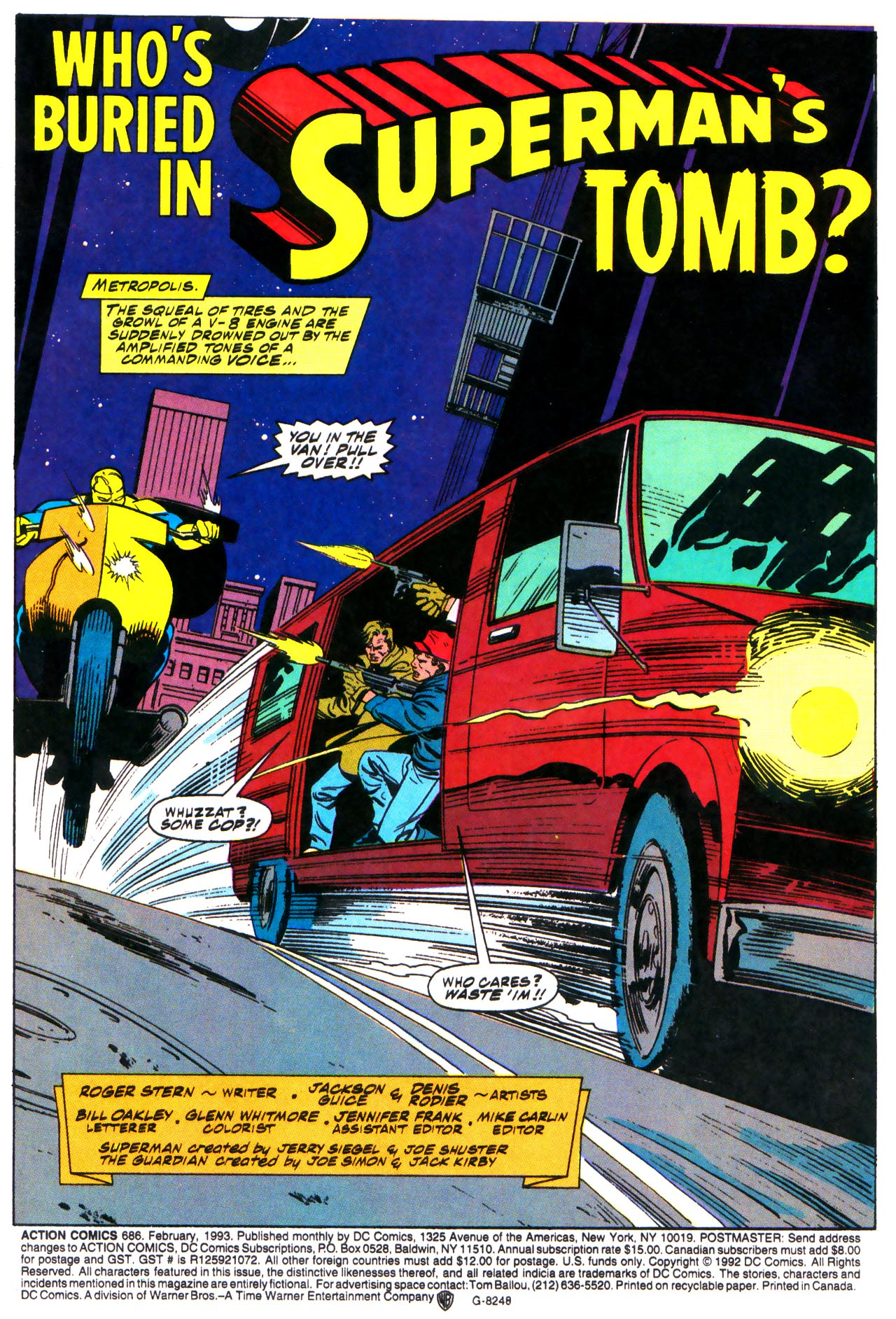 Action Comics (1938) 686 Page 2