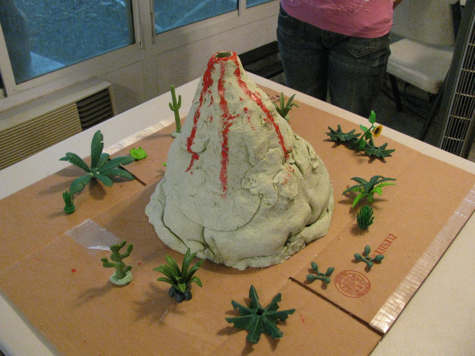 Cheryl S Bunch Model Volcano 6th Grade Science Project