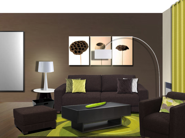 solutionappart d coration d 39 un salon ivry. Black Bedroom Furniture Sets. Home Design Ideas