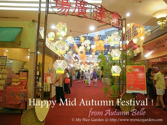 My Nice Garden: Mid Autumn Festival 2010 and Water Caltrops