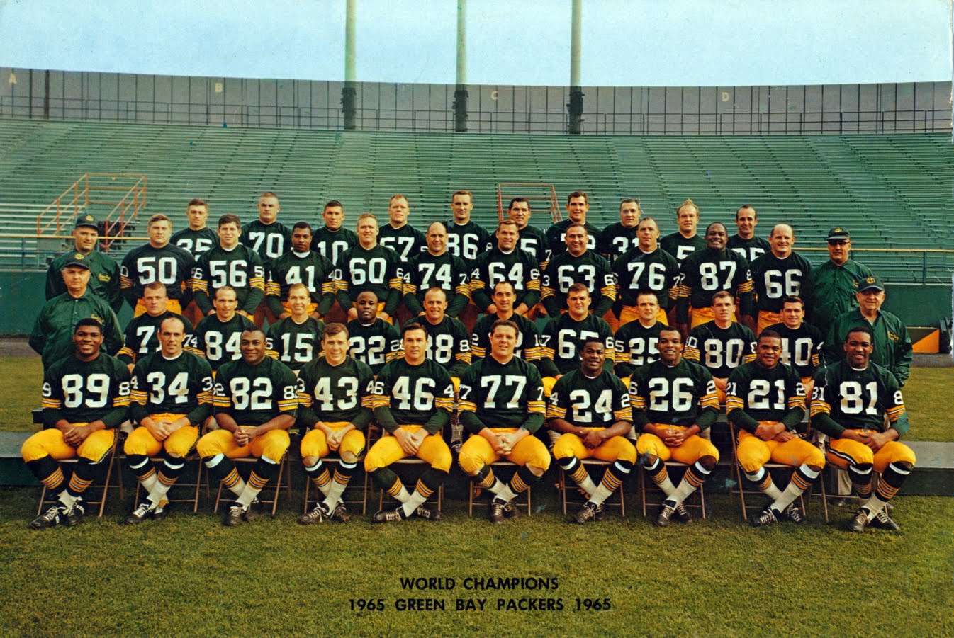484a65fad 1965  The Packers finally settle on a number font