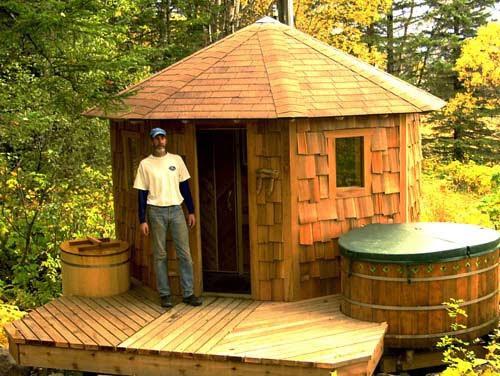 All About Modern Ideas Wooden Cedar Hot Tub From