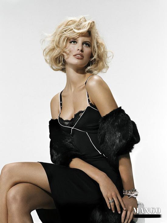 Karolina Kurkova (Mango Ads 2009) - Models Inspiration