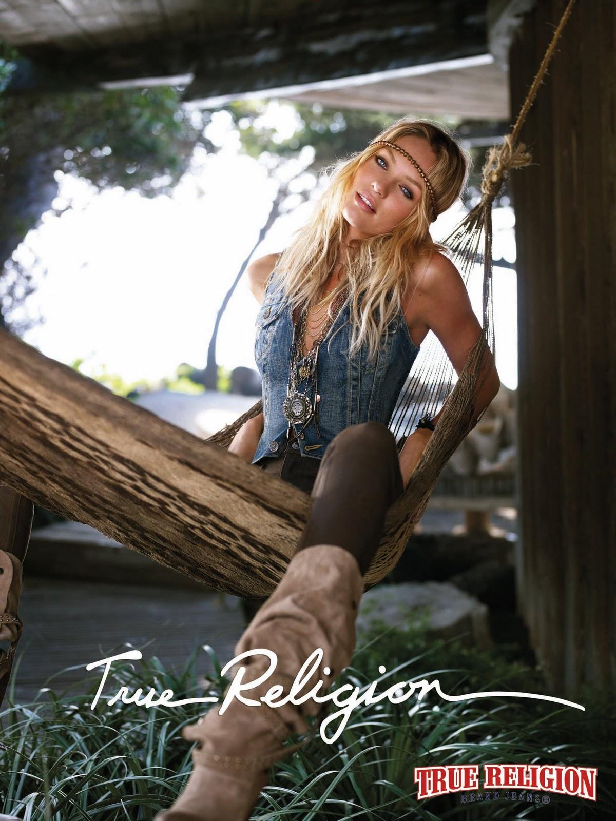 Candice Swanepoel (True Religion LookBook Spring 2011 ...