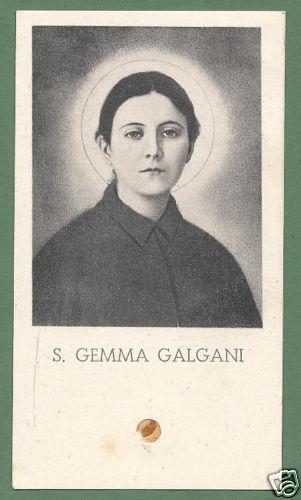 St Gemma Galgani Patron Saint Of The Poor And Unemployed
