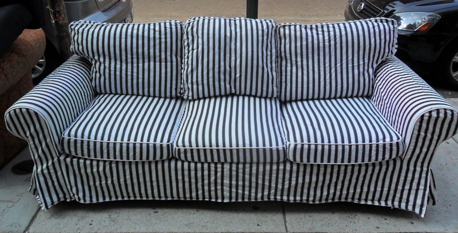 Blue And White Striped Chair Hanging Karachi Sofa Uhuru Furniture Collectibles Gorgeous