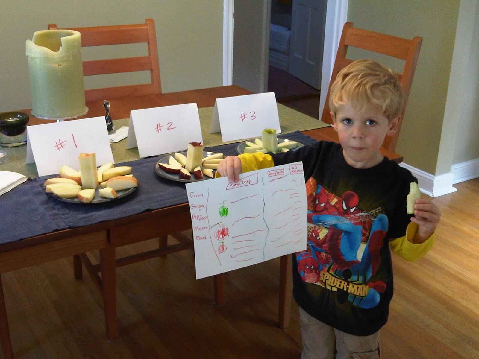 Finnegan Finn Sarazin Baron Great Apple Taste Test