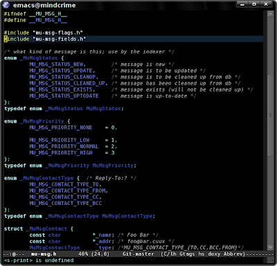 emacs-fu: color theming
