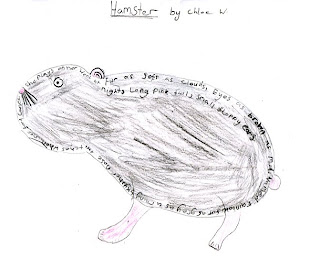 Grebes class at Salhouse Primary School: Concrete poems