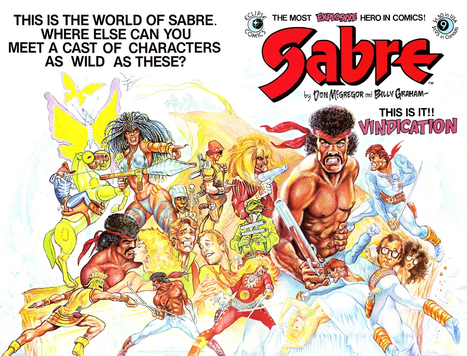 Sabre (1982) issue 9 - Page 1
