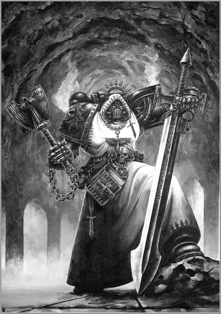 W40ktenerife Warhammer Art