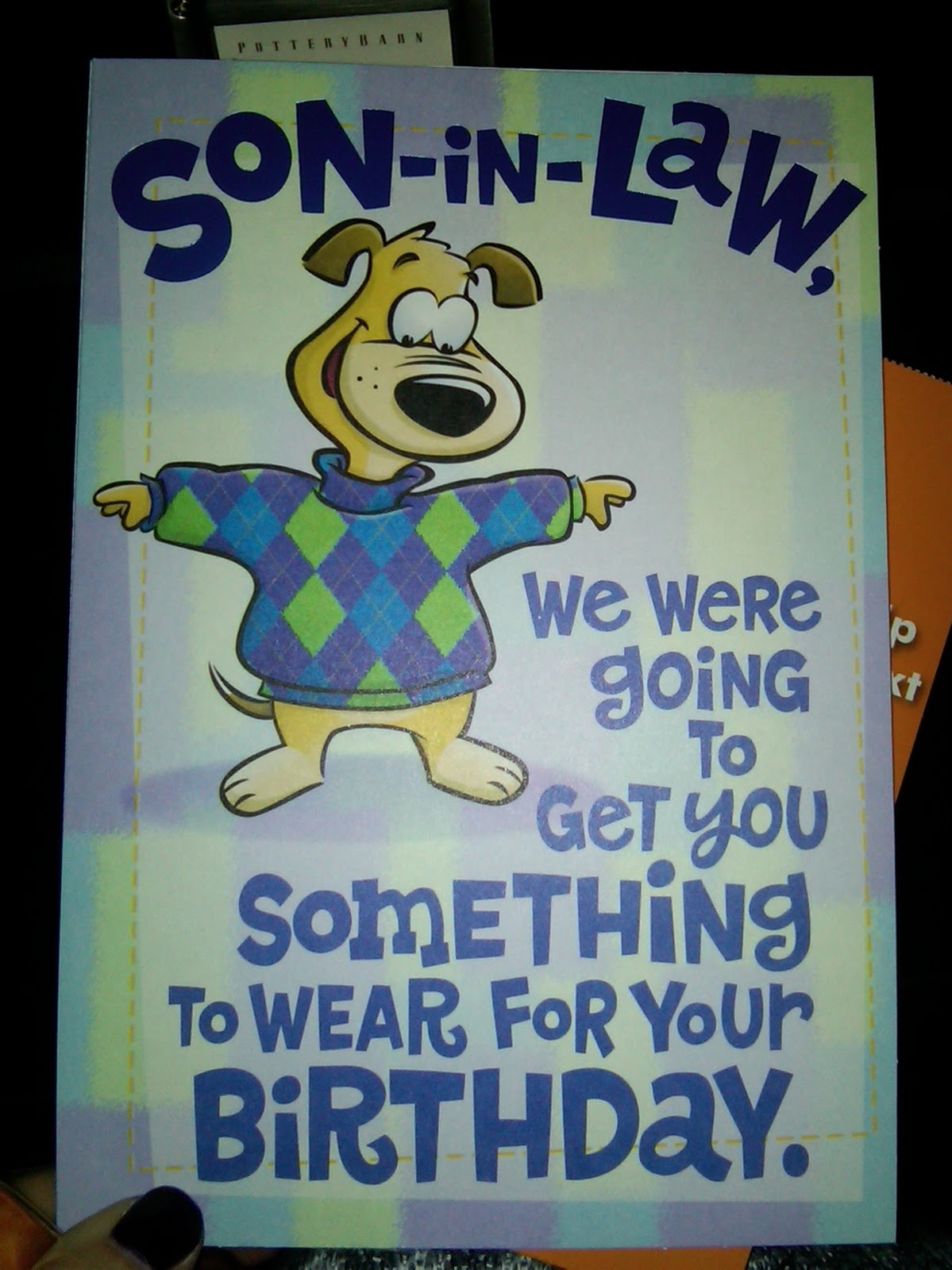 Funny Birthday Greeting Cards For Son In Laws Happy Wishes Law