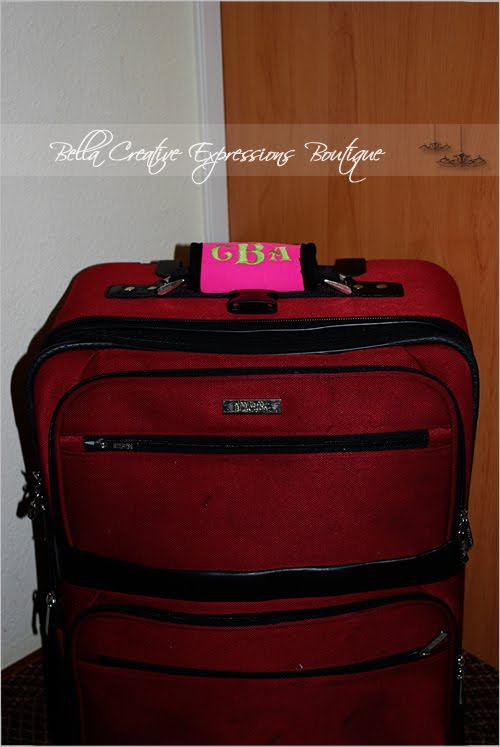 Bella Creative Expressions Boutique Personalized Luggage