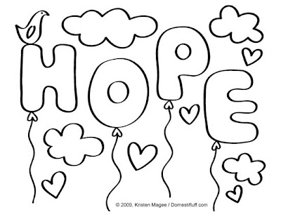 hope coloring pages - photo#1