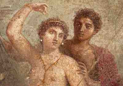 Unknown Artist - Fresco from Pompeii (pre 79 AD)