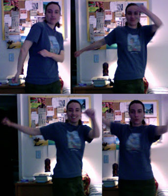 dancing Claire