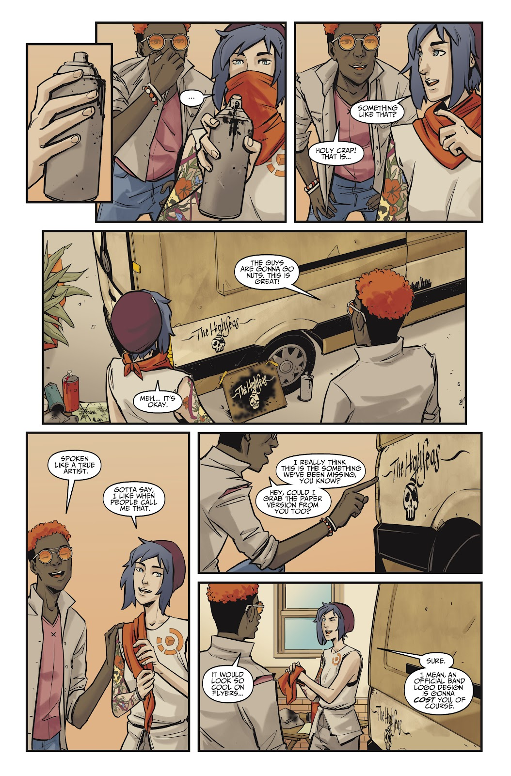 Read online Life is Strange comic -  Issue #10 - 24