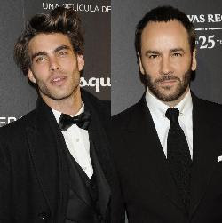 "Jon Kortajarena..& Tom Ford. Video: Un estreno de alfombra roja ""A Single Man"""
