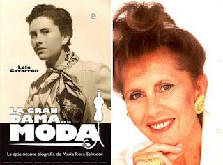 El mundo de la moda recuerda a María Rosa Salvador, creadora de la Aguja de Oro.