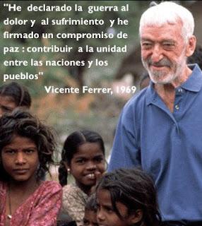 Vicente Ferrer, una de las figuras más relevantes de nuestro siglo en el ámbito de la Cooperación, ha fallecido en Anantapur, India. Video excelente.