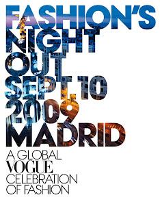FASHION´S NIGHT OUT SEPT.10 / 2009. ALUCINANTE INICIATIVA PROMOVIDA POR VOGUE EN ESPAÑA.