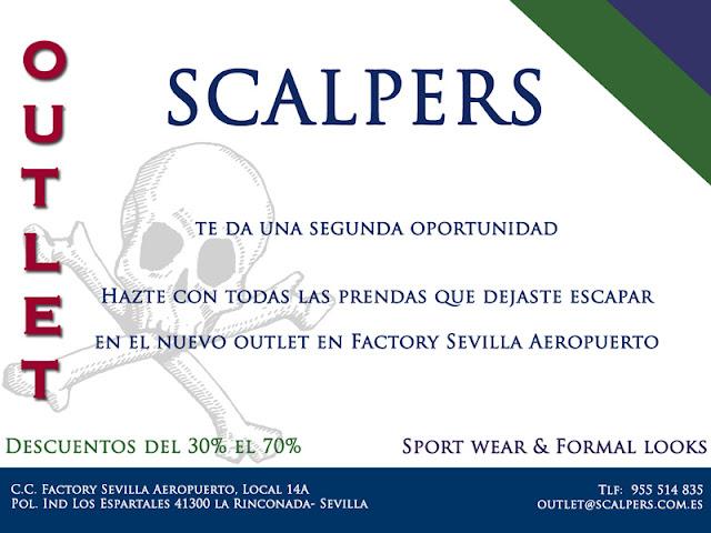 Nuevo outlet de Scalpers en Factory Sevilla ¡¡ GENIAL.