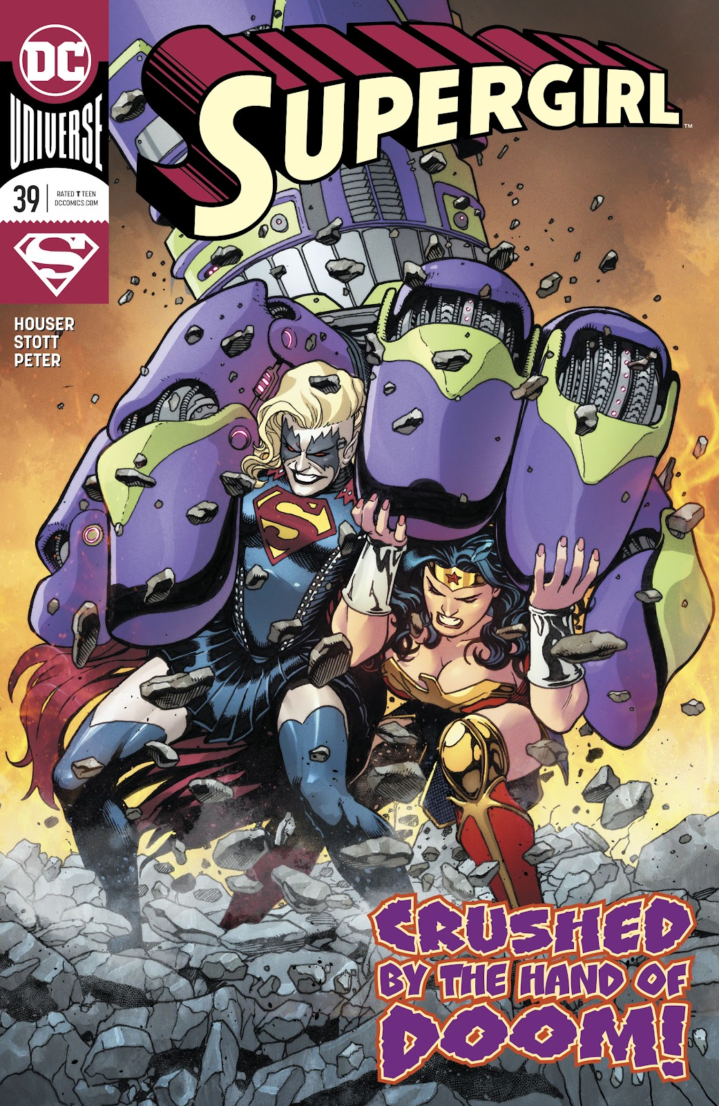 Read online Supergirl (2016) comic -  Issue #39 - 1