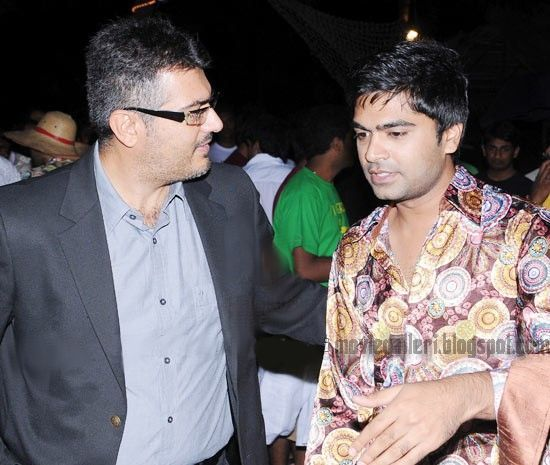 Simbhu and Ajith