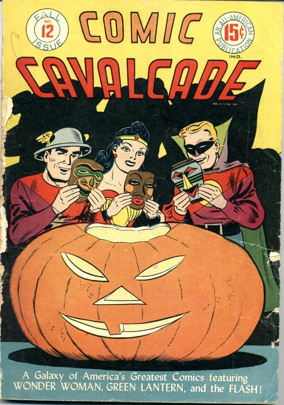 Comic Cavalcade issue 12 - Page 1